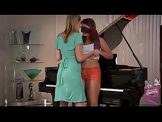 Samantha Ryan and Allie Haze at the Piano