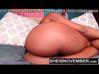Bad bitch msnovember shaking her huge natural tits on petite body big ass pov