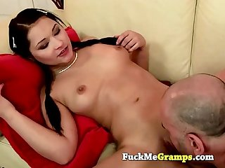 Old man jack fucks the girl next door