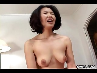 Asian milf loses her mind as she s fucked