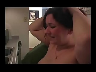 Kitchen Spank and Fuck BBW