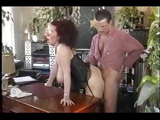 Big tited secretary and boss