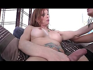 Mature granny shemale rimming young ladyboy