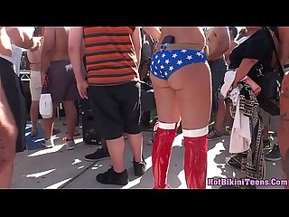Super HotAss Bikini On the street Voyeur Spy Cam Hidden