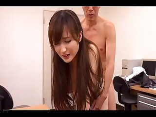 Old man rap d cute japanese girl