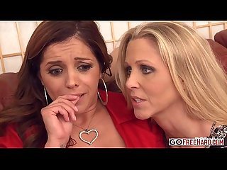 Francesca le julia ann lexi lamour gets comforted by her milf friend