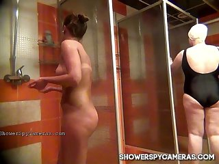 Hot teen caught on hidden cam at showerspycameras com
