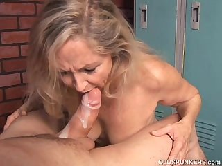 Something is. son and old milf fuck think