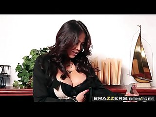 Brazzers - Big Tits at Work - Bored Boss Cock scene starring Mia Lelani and James Deen