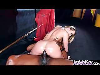 Deep Anal Sex On Tape With Big Curvy Ass Horny Girl (AJ Applegate) vid-04