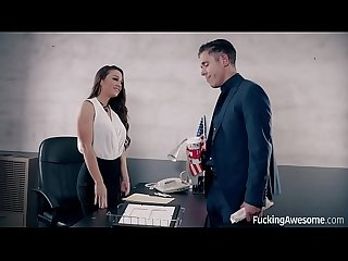 Secretary Abigail Mac Sucks And Fucks With Her Boss