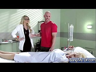 Hard sex tape with dirty doctor bang horny patient movie 30