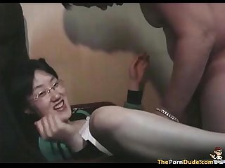 Asian girl looses her virginity