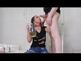 Painal and piss drinking punishment for hot PAWG Maria Jade