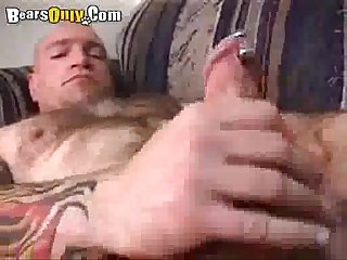Furry daddies smothered in cumshots