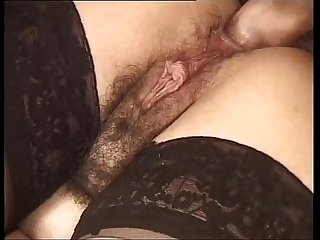 Pervert laid Woman fuck in The Ass