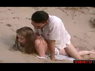 Gettin pussy on the beach hard porn