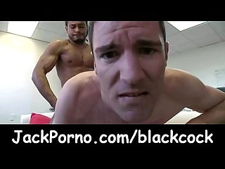 Its Gonna Hurt - Huge black cock fuck gay dudes clip02
