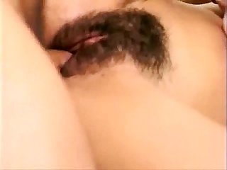Indian brunette with hairy pussy