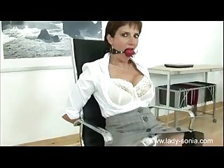 Lady sonia in bondage