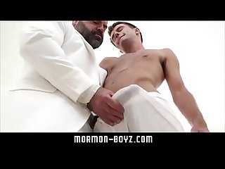 Young Teen finger fucked and barebacked by dad mormon boyz period com