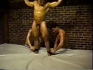 hot muscle wrestling