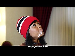 TeenyBlack - Karma May's First Porn Scene!