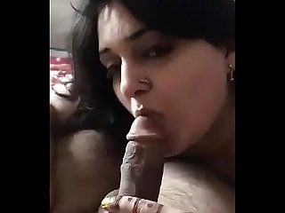Farhana R bhabhi hot blowjob