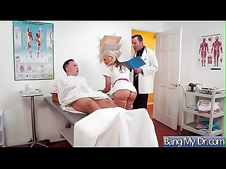 Superb Patient (Sarah Vandella) Get Seduced By Doctor And Nailed video-27