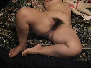 Huge bubble butt & hairy pussy. 59-3.
