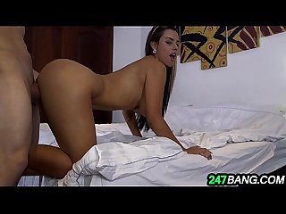 Beautiful latina maid gets seriously fucked for cash 6