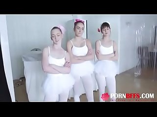 Ashley anderson athena rayne Shae celestine in ballerinas