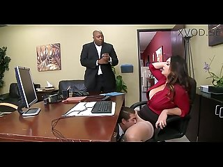 Alison tyler has a little office fun