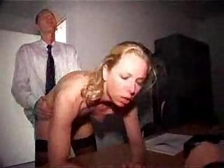 German office milf