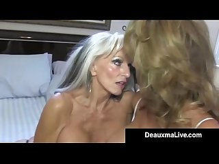 Texas Cougar Deauxma Watches As Sally D�Angelo Bangs Hubby!