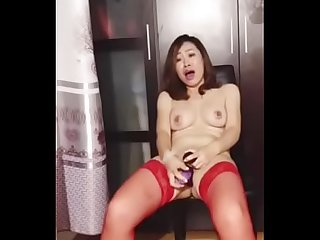 ri ye hung red stay ups real orgasm second part