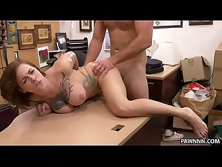 Tattooed harlow harrison fucks for money Xxx pawn