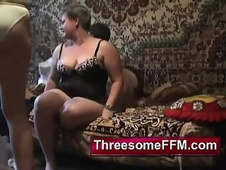 Young Guy Fucking Two Russian Ladies - threesomeffm.com