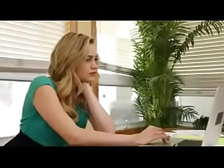 Beautiful girl fuck hard by boss in the office