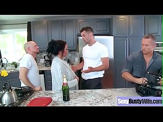 (Ashton Blake) Superb Busty Housewife Get Hard Bang On Cam movie-04