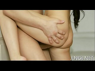 Carnal and erotic doggy position drilling