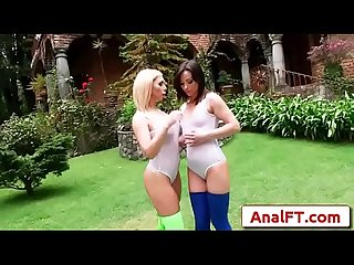 Anal acrobats Xxx alysa and isabella part vid 01