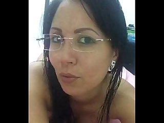 Sexy chica de Facebook en webcam