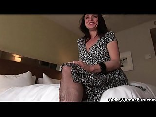 Hot mom Karen kougar loves anal sex