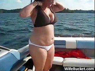 Fucking the wife on a yacht