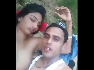 Real village couple sex outdoor