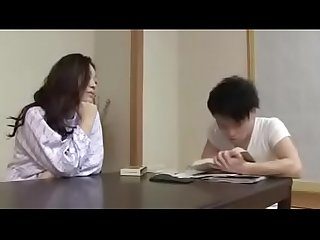 Japanese Step Mom with Son Drink And Fuck)