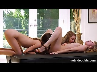Three Hot Lesbian Girls Fucking Each Other At Casting
