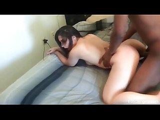 Husband Recording wife with a bbc