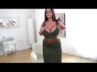 Busty seduction with ultra Hot luxury Milf emma butt makes you cum big time
